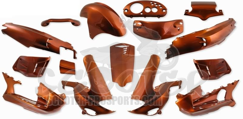 Verkleidungskit SPS-Racing 15 Teile orange metallic - Gilera Runner Art.Nr.SPGR0160622