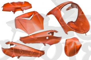 Verkleidungskit SPS-racing 6 Teile Flash Orange Peugeot Vivacity bis Baujahr 2007 Art.Nr.SPS218267