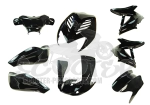 Verkleidungskit 8 Teile SPS-Racing Magic Black metallic - Aerox - Nitro