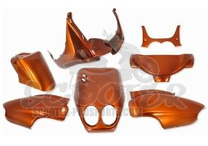 Verkleidungskit 7 Teile SPS-Racing orange metallic Neos - Ovetto