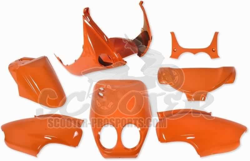 Verkleidungskit 7 Teile SPS-racing Ktm Orange Neon Neos - Ovetto Art.Nr.SPYN01604