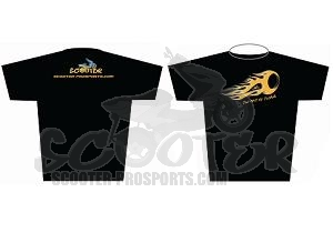 2014 Style Scooter-ProSports Black T-shirt Art.Nr. SPS-SHIRT