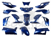 Verkleidungskit 14 Teile SPS-Racing blau metallic - Peugeot Speedfight 4