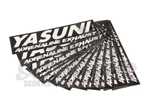 Yasuni Sticker - Adrenaline Exhaust - 115x35 mm Art.Nr. YA-STICKER
