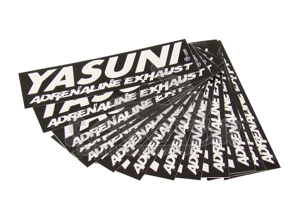 Yasuni Sticker - Adrenaline Exhaust - 115x35 mm Art.Nr.YA-STICKER