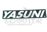 Yasuni Sticker -old School- 170x38 mm